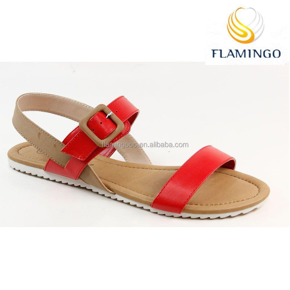 Flamingo 2015 Latest Odm /oem China Wholesale Flat Sandals /women ...