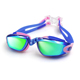 Prescription colorful silicone comfortable big novelty swimming goggles for children swim