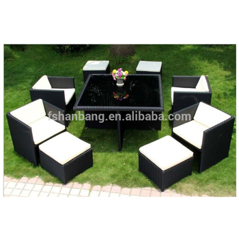 Astounding Outdoor Garden Patio 9 Piece Resin Wicker Dining Cube Table Chair Set Buy Dining Cube Table Chair Set Hd Designs Outdoor Furniture Outdoor Wicker Cjindustries Chair Design For Home Cjindustriesco