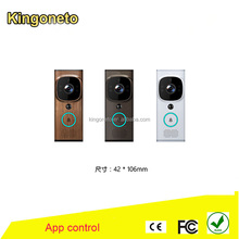 world unique doorbell camera intercom Wireless Wifi Doorbell Camera for Apartments wireless door bell