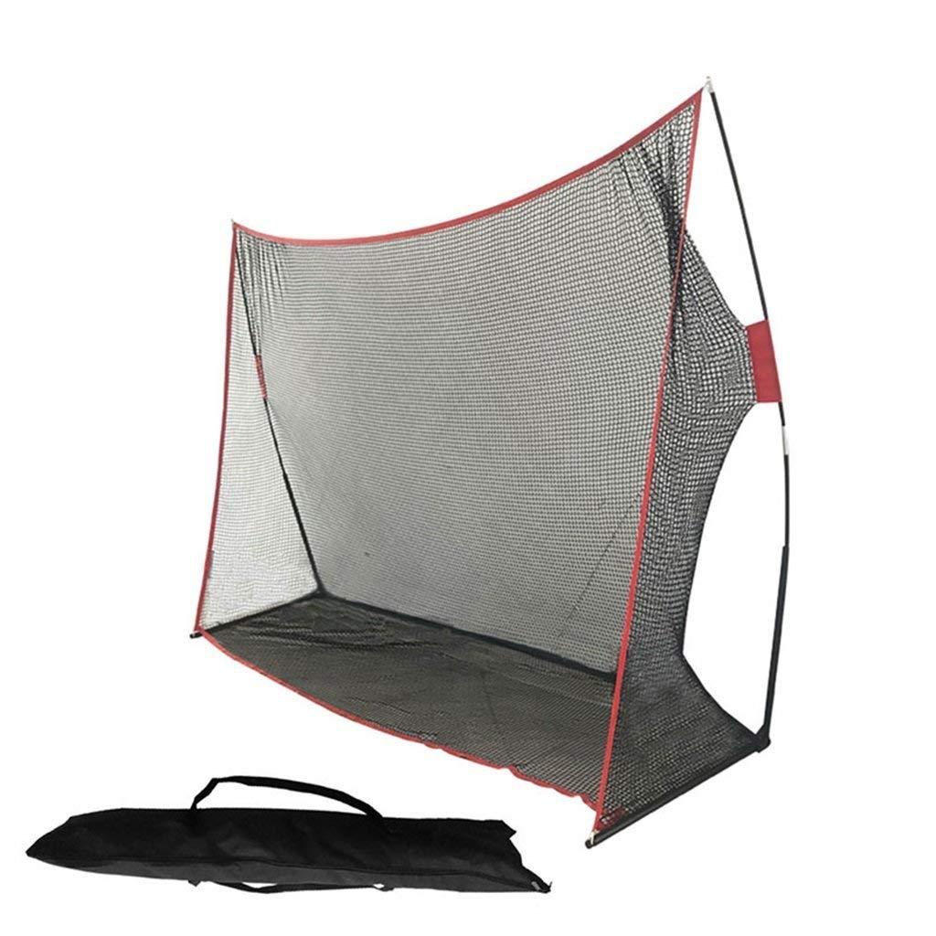 Hitting Nets Golf practice net, driving net indoor practice net game trainer professional golf driving net portable golf net folding golf practice net (Color : Black, Size : 213304cm)