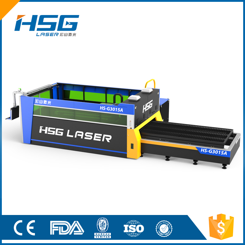 Hsg China Fiber Sheet Metal Laser Cut Machine Price For Sale Hs ...