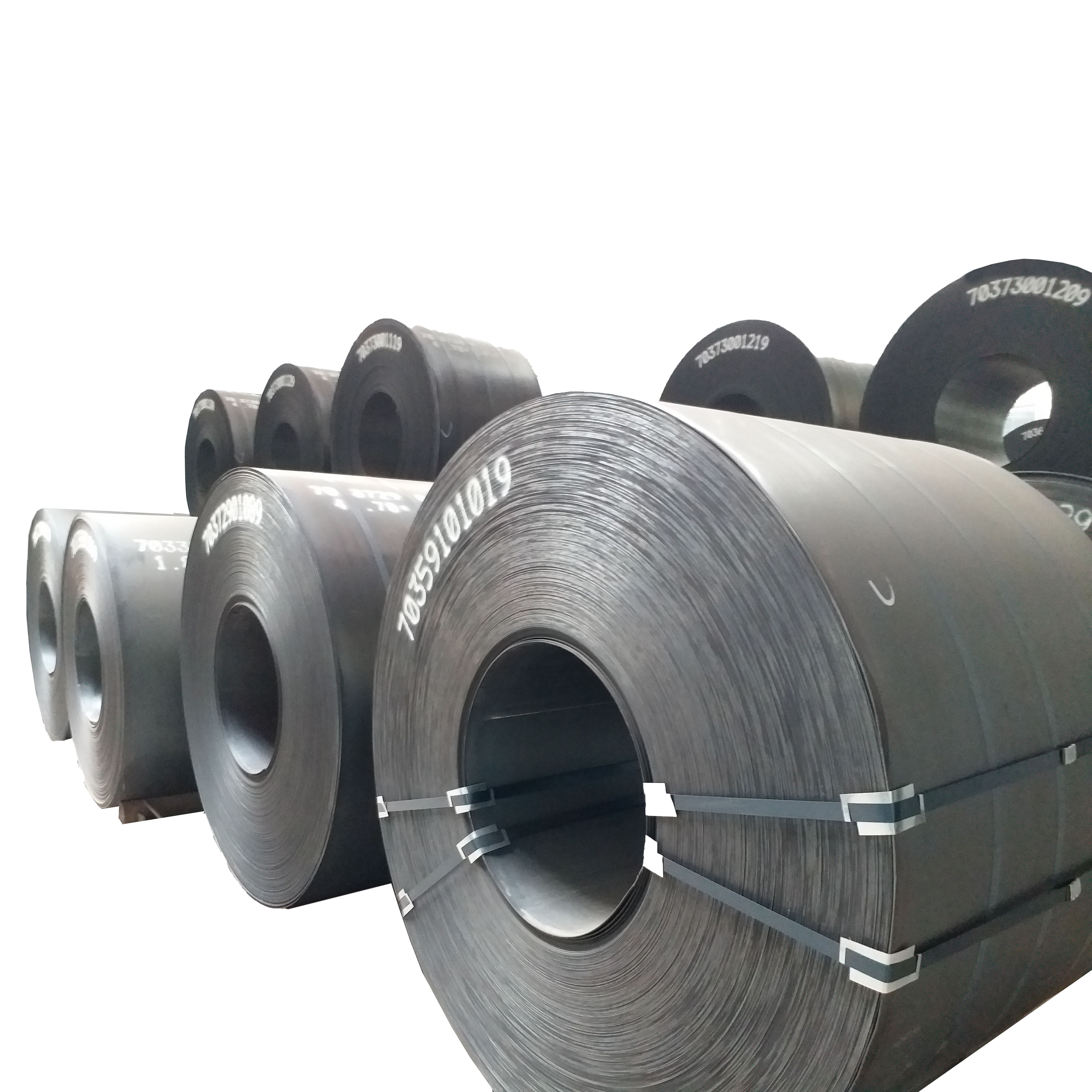 wrought steel roller steel coil stock holder supplier providing A36 8mm Hot Rolled Coil Steel separating into small hr coil