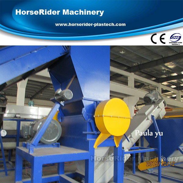 pp pe folie wassen machines/plastic recycling machine