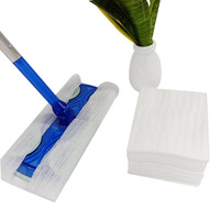 Household Cleaning Tools Disposable 100% polyester floor mop cloth floor dust cleaning