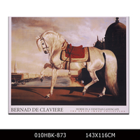Wholesale Print Modern Animal Picture Printed Running Horse Oil Painting on Canvas