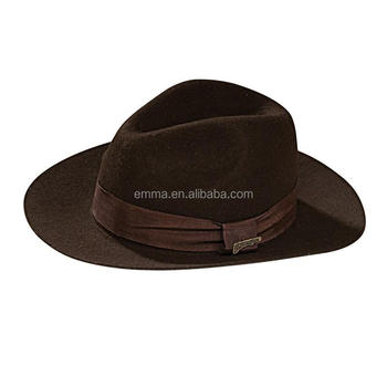 Hot Sale Carnival Party Hat Indiana Jones - Deluxe Fedora Indiana Jones Hat  Adult HT2894 8b17ba1c7ae