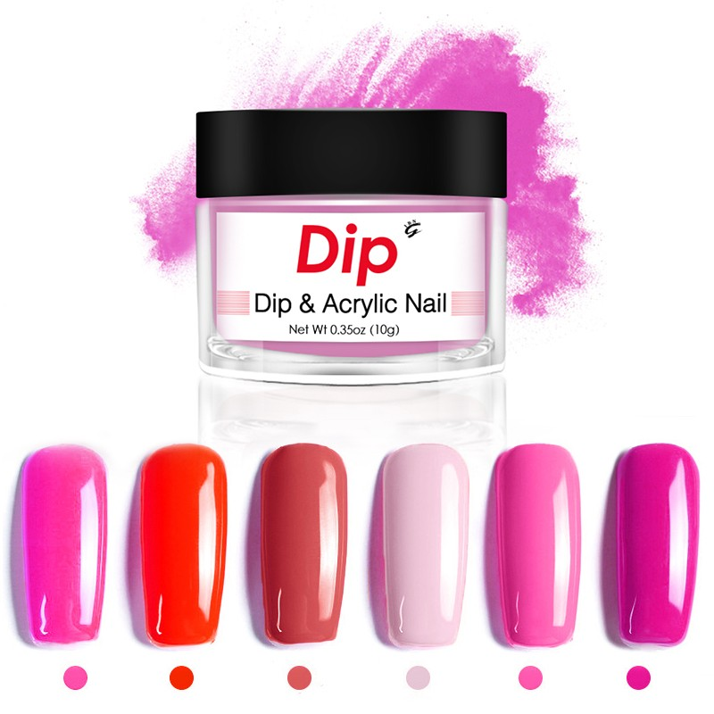 Breathable gel dip powder blue nail dipping best system