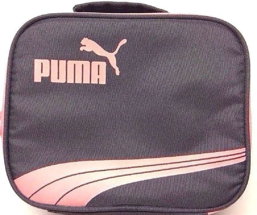 40816aba58b9eb Get Quotations · Puma - Little Girl's Lunch Tote Bag Grey/ Pink