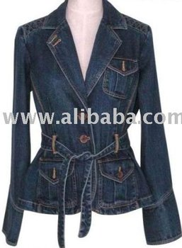 Ladies Denim Jacket - Buy Ladies Jacket Product on Alibaba.com