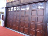 Electric Vintage Wood Garage Doors Uk