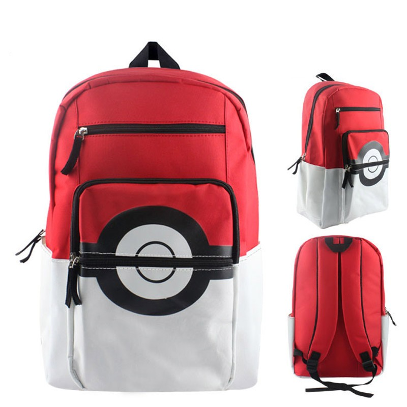 Anime-Pokemon-Pikachu-Poke-Ball-School-Shoulder-Bag-Children-Plush-Backpack-Free-Shipping-BB0119 (7)
