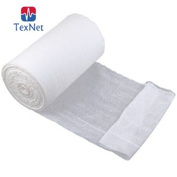 China Manufacturer for High Quality Gauze Roll Bandage Sterile,100%cotton,BP Standard