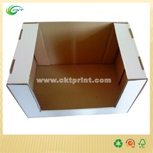 Practical Corrugated Carton Display Box With Fashion Design