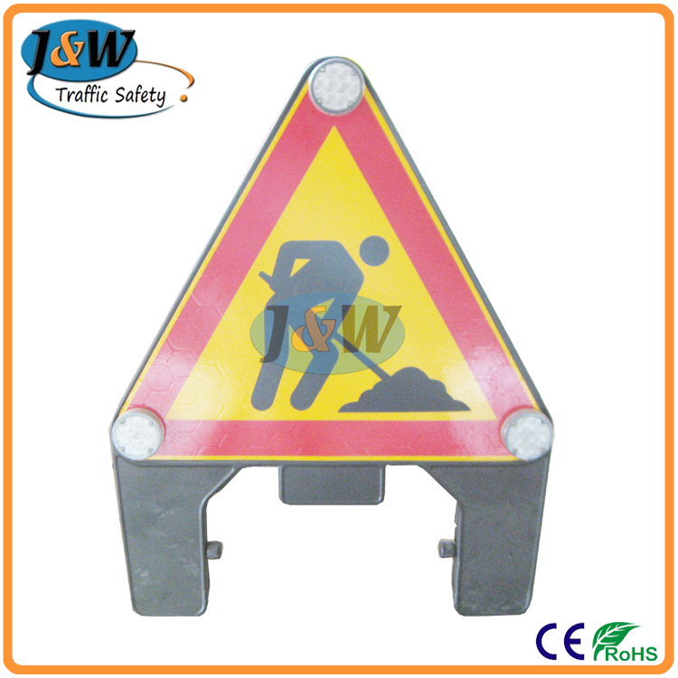 High Visibility Reflective Temporary Construction Signs / Road ...