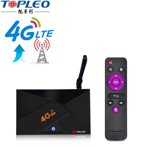 Professional design V4G FDD-LTE 4G sim card network 4g lte android tv box