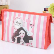 Yiwu Factory Direct Printed Fancy Girls Ladies Promotional Cheap PVC Cosmetic Bag