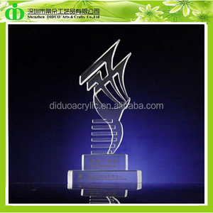 DDL-H028 ISO9001 Chinese Factory Sells SGS Test Transparent Plastic Oscar Trophies