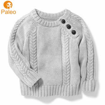 Produttore Personalizzato abbigliamento Per Bambini grigio fatto a mano  cardigan maglioni di lana per i bambini