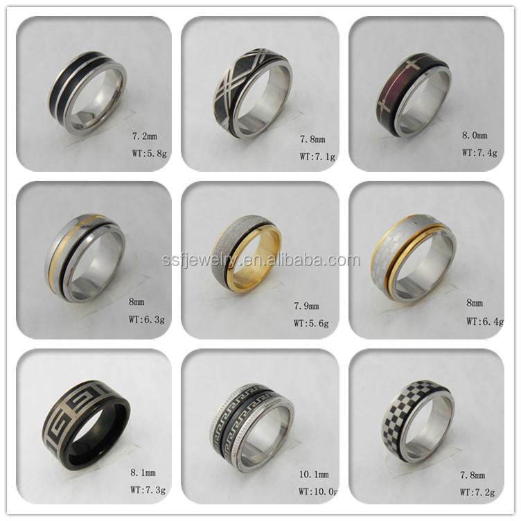 Ssr0314 Fashionable 316l Stainless Steel Men Thumb Ring - Buy Men ...