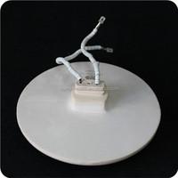 high quality best service round shape far infrared ceramic heater plate