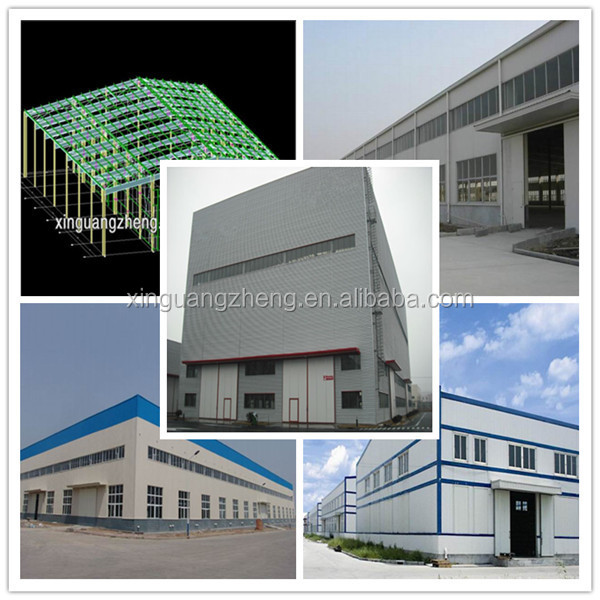 light steel structure building Ghana prefabricated warehouse