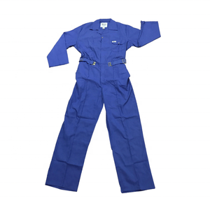 Industrial long sleeve blue ultima coverall workwear jumpsuit construction work uniform