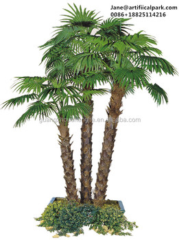 Decorative Artificial Fake Indoor And Outdoor Potted Palm Tree ...