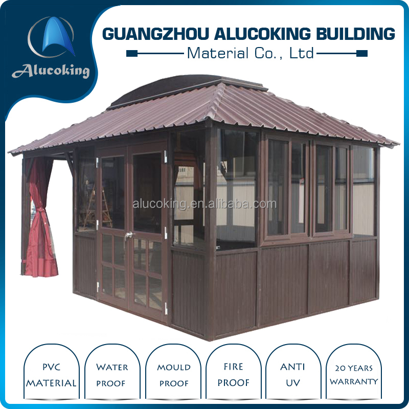 best selling china wpc wooden house like natural wooden wpc Kiosk/Booth