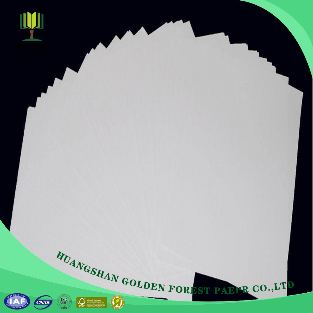 Wholesale high quality mixed wood pulp c1s ivory paper board sheets