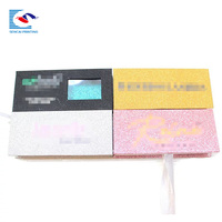 SENCAI high quality customized design mink magnetic lash paper bo with window