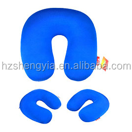 New neck excellent quality disposable inflatable couple travel pillow