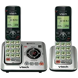Vtech VTCS6629-2 Dect 6.0 Expandable Speakerphone With Caller Id -2-handset System