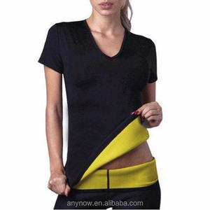 Sport fitness slimming thin body with short sleeves body waist shapers