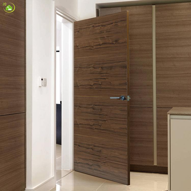 Advantage Of German Villa Living Room Flush Interior Doors Design