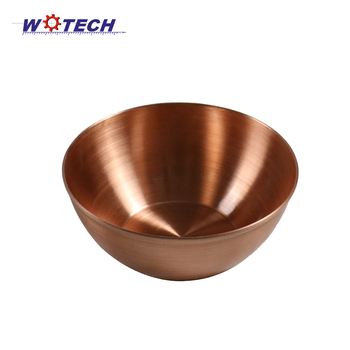 High Quality Spinning Copper Bowl