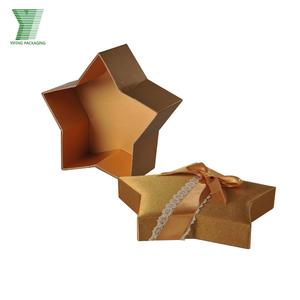 China manufacturer star shaped gift boxes packaging wholesale