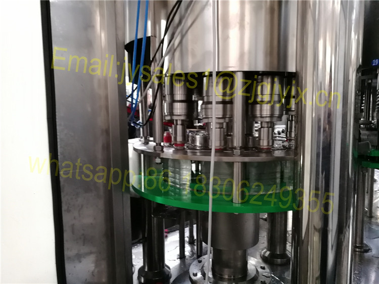 Automatic 200-2000ml PET Bottle Filling Machine / Mineral Water Bottling Plant Price From Suzhou