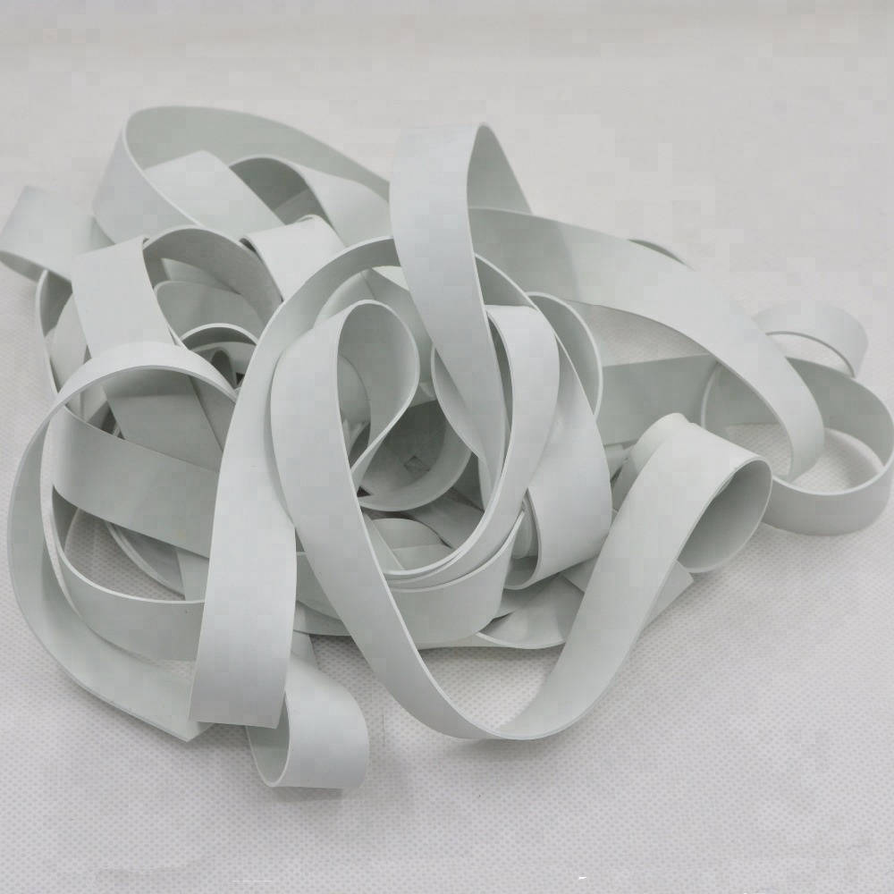 wholesale white black color natura rubber l elastic band tape for swim wear accessories
