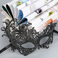 Black Venetian Masquerade mask party Lace Fancy Dress Eye Sexy party mask