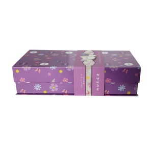 Low MOQ customization hand made magnetic book shaped gift box