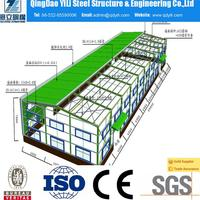 popular steel structure building of used shoes warehouse for wholesales