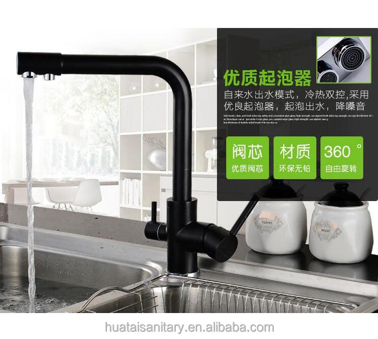 Venta al por mayor agua purificada grifo de la cocina-Compre online ...
