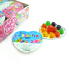 JY-001 Box pack LOVE STORY heart shape mixed assorted fruit jelly pudding
