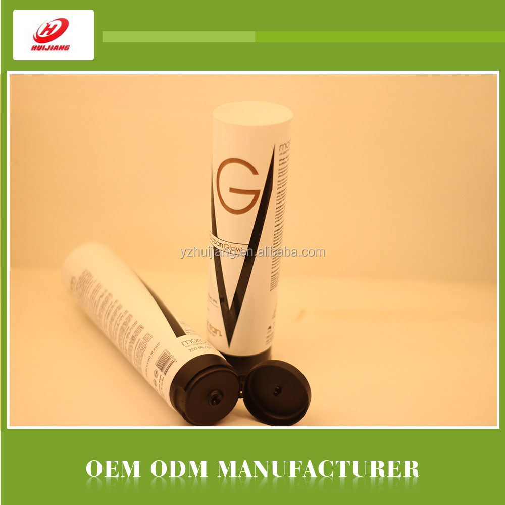 Hotel usage disposable platic cosmetic tube packaging