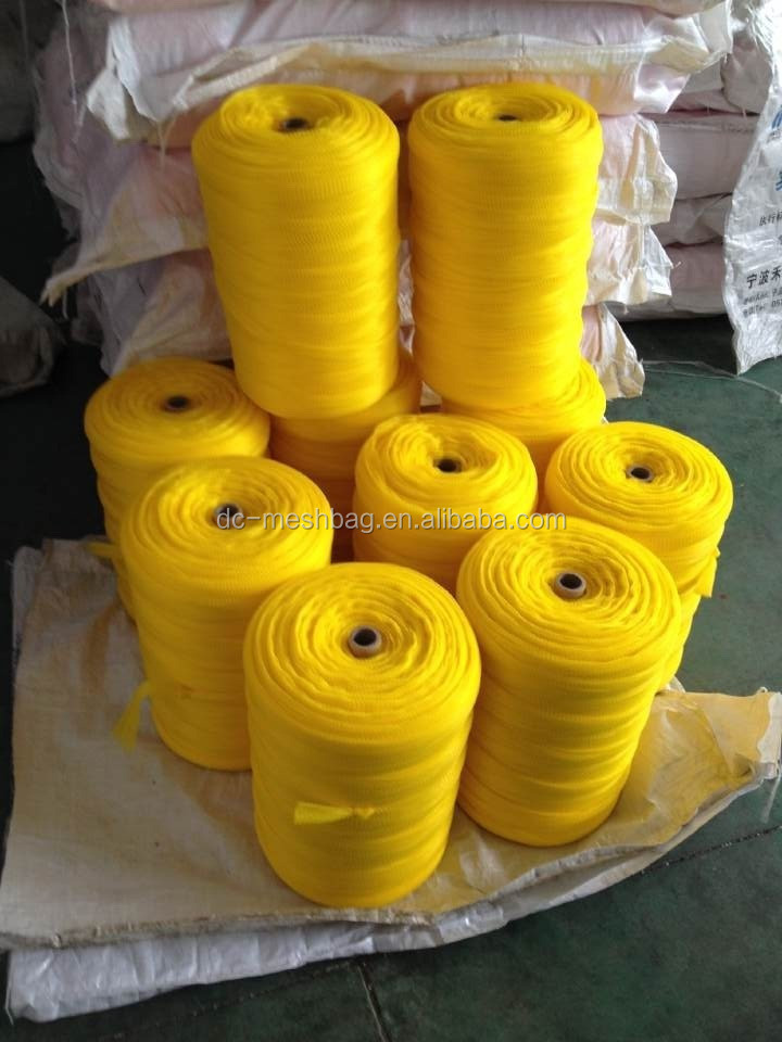 extruded plastic net bag for packing fruits and vegetables