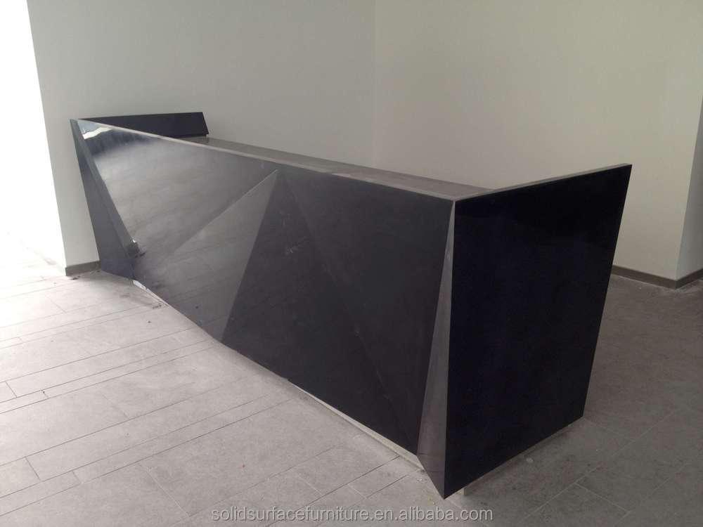 furniture curved counter design/ reception desk, circular desk