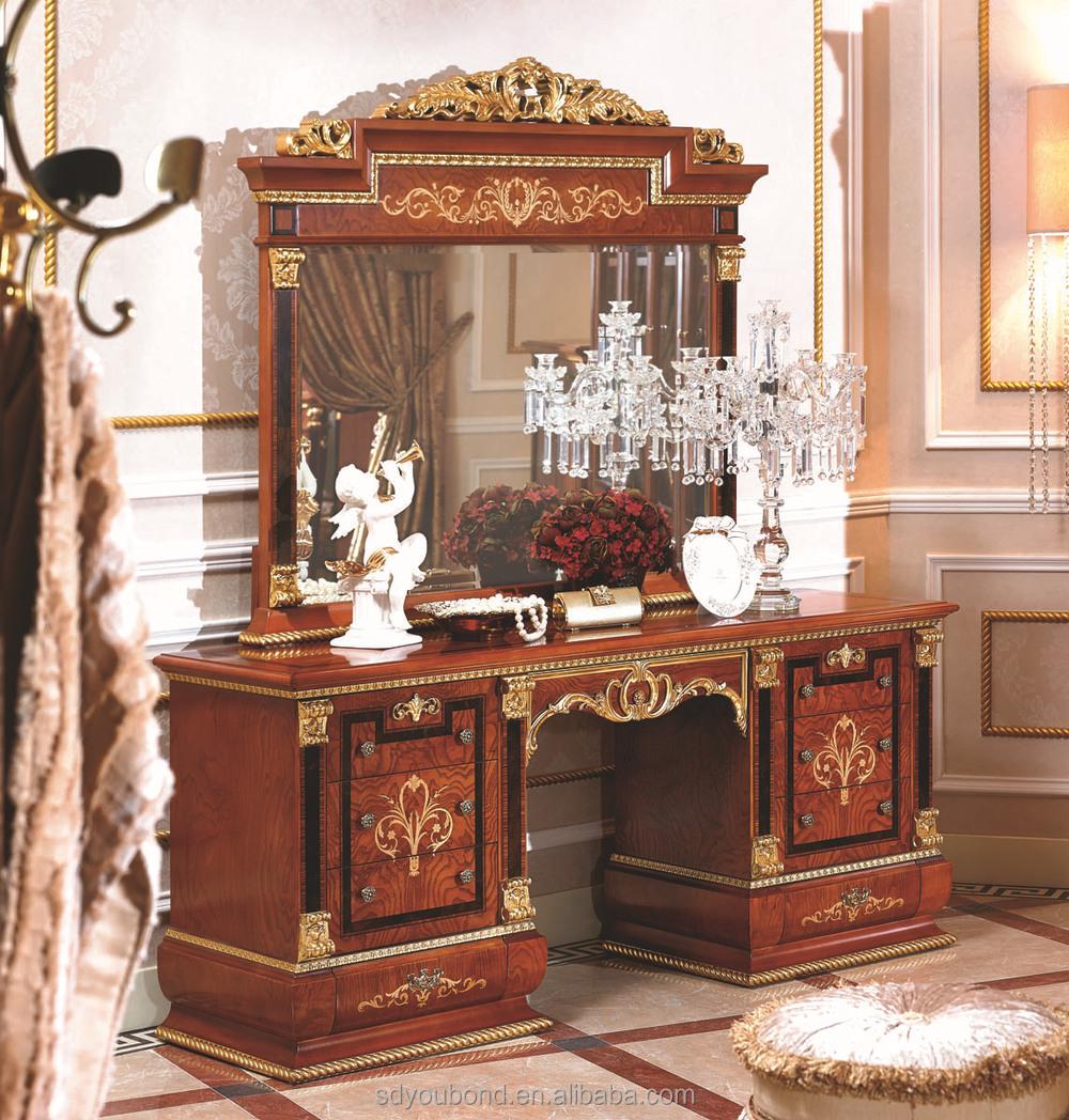 Classic european bedroom furniture - 0038 European Luxury Classic Bedroom Set Furniture Solid Wood Bedroom Furniture