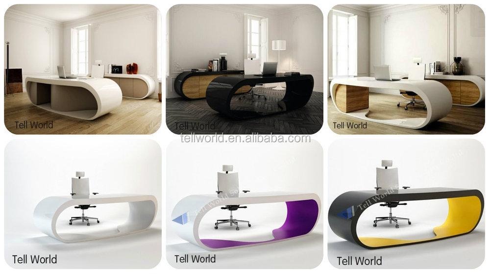 Modern White Office Desks