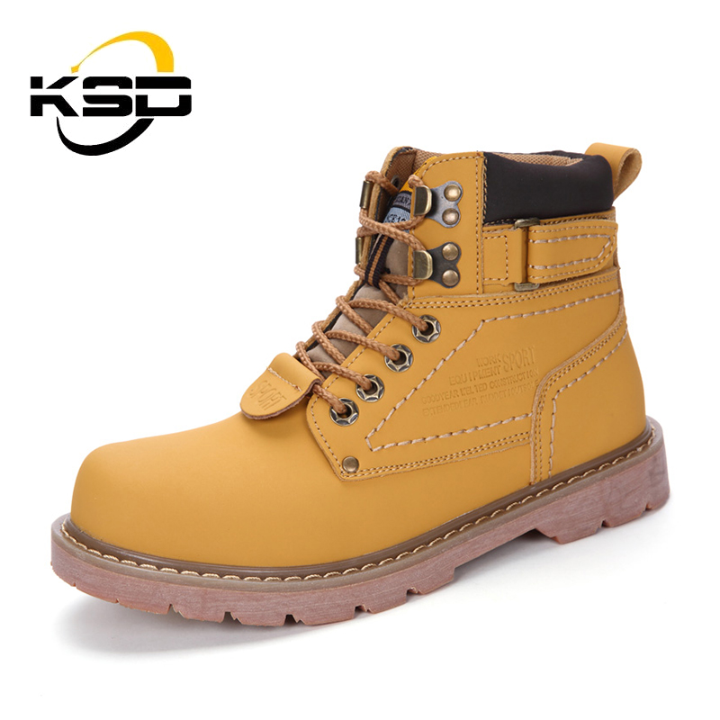 KSD 2018 Arrivals Couple Winter Shoes Wholesale Work Safety Men <strong>Boots</strong>